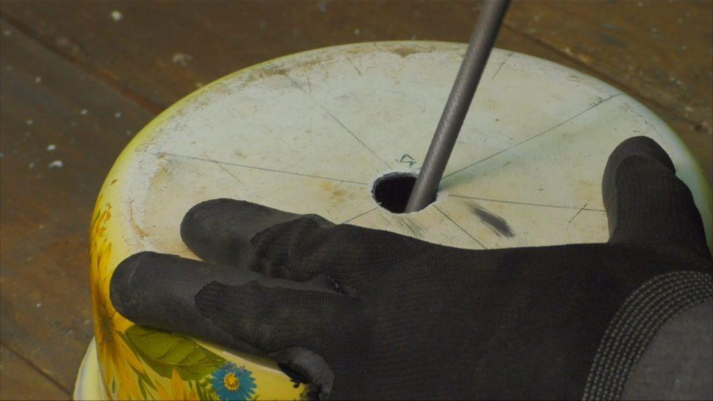 Drobilka dlya zerna svoimi rukami